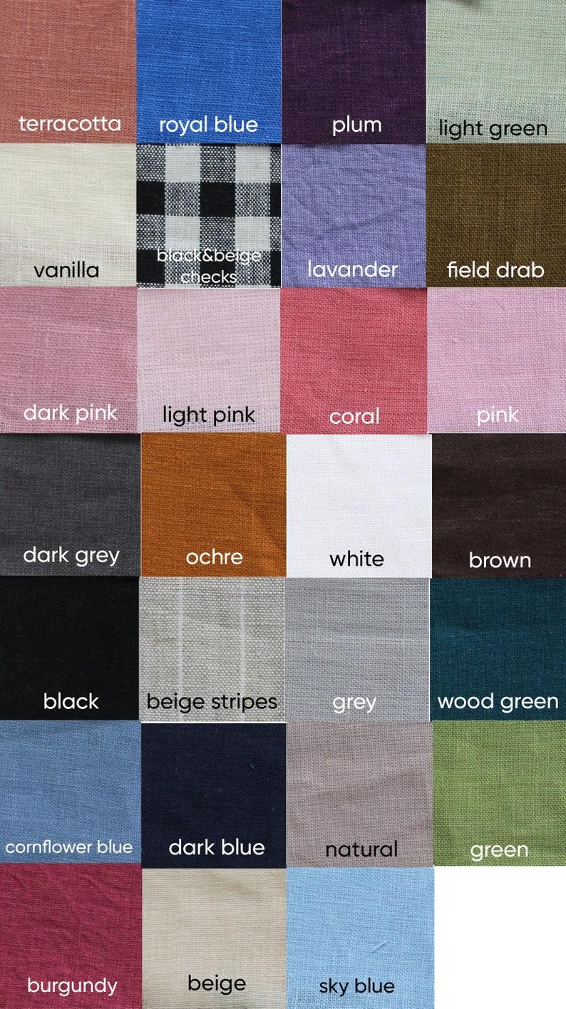 Handmade Clothing For Women pink linen shorts High Waisted Linen Shorts Elastic Waist Summer short shorts CAROL wide leg short shorts