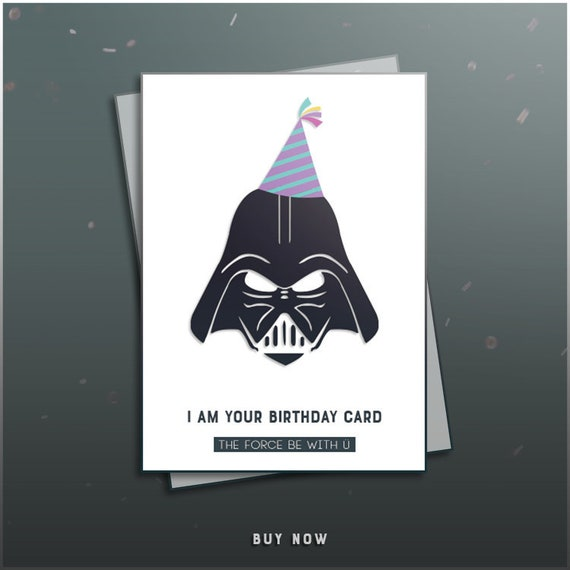 Geburtstagskarten zum ausdrucken star wars