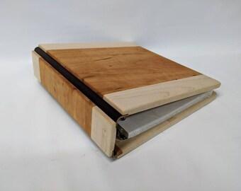 photo album, scrapbooking, wedding album, 3 ring binder, wood album, wood photo album