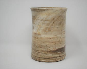 Ceramic Dark Marbled Thumbler 11 oz