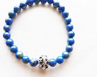 Nature stone bracelet-ESA 1019