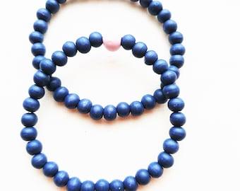 Friendship bracelets made of wooden beads – FRA 1055