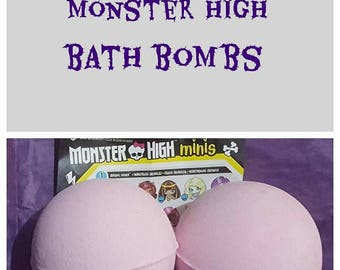 Monster High Toy Bath Bombs