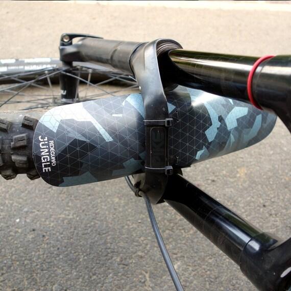 Front MTB XL Mudguard RideGuard BFG Enduro Guard Mountain Bike Fender Jungle Ash