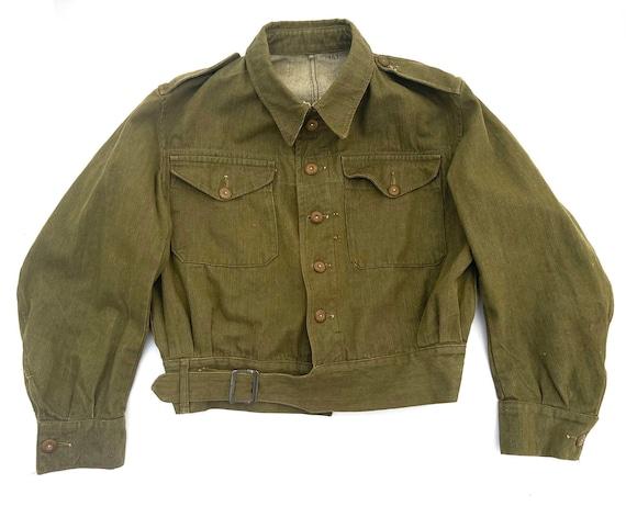 Original Vintage British Army Battledress Blouse