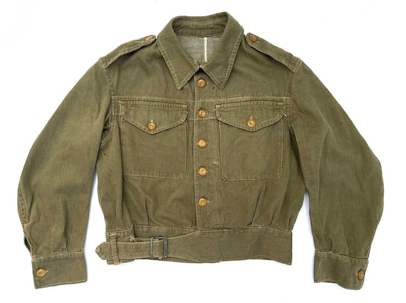 Original 1945 Dated British Army Denim Battledress