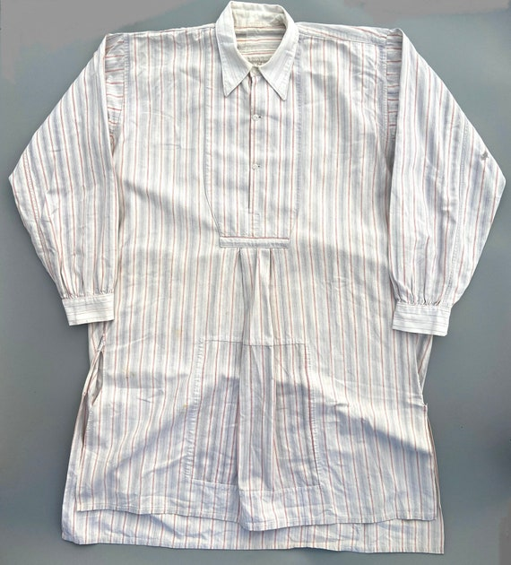 Original 1930s Men's French Collared Shirt