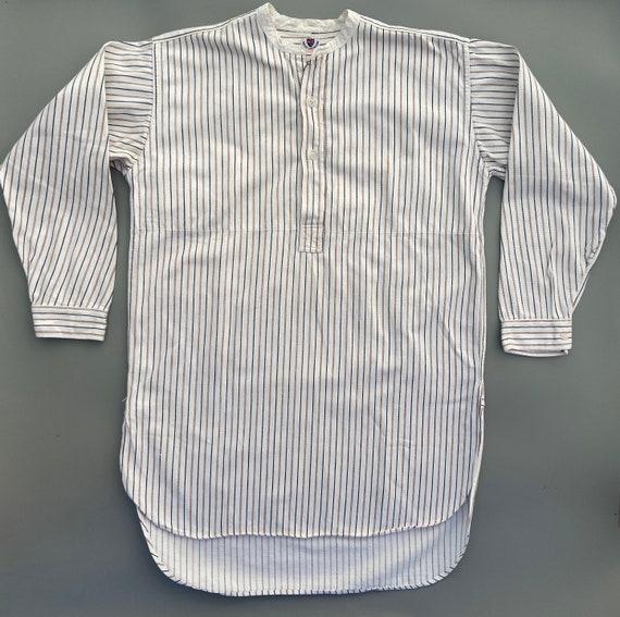 Original 1930s Men's Collarless Shirt by 'Water La