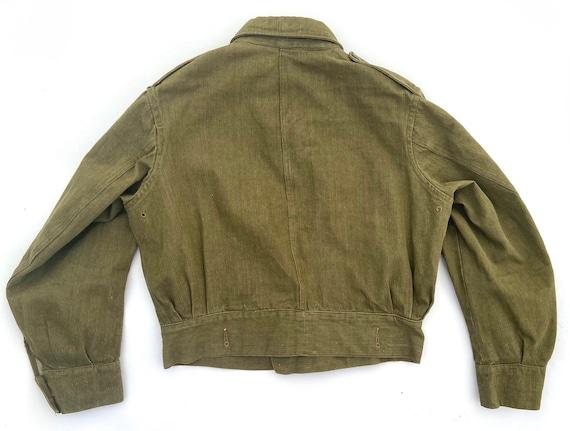 Original Vintage British Army Battledress Blouse - image 6