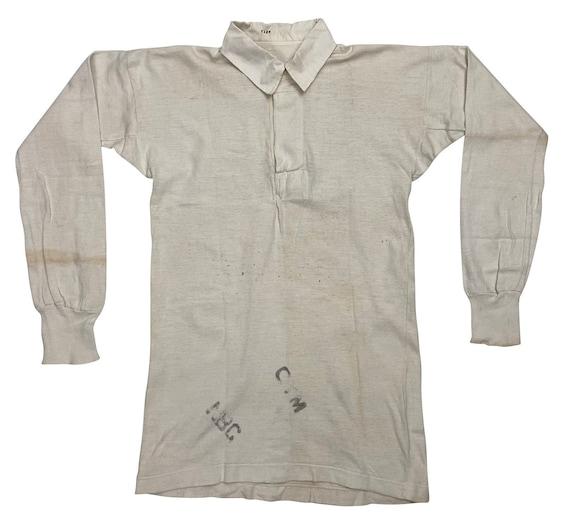 Original 1940s Royal Navy PT Sports Shirt