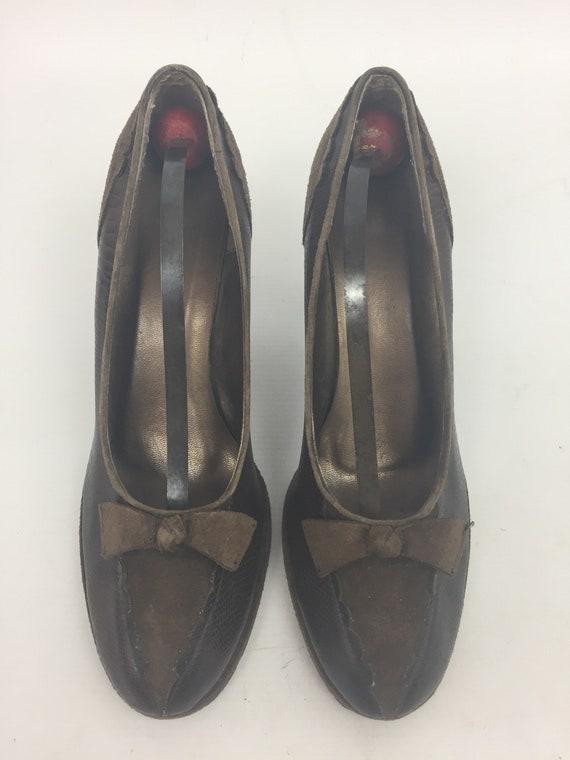 Original 1940s Ladies Shoes - image 4