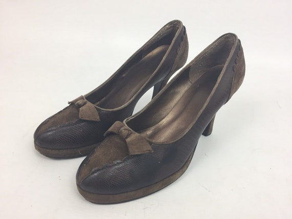 Original 1940s Ladies Shoes