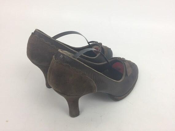Original 1940s Ladies Shoes - image 3