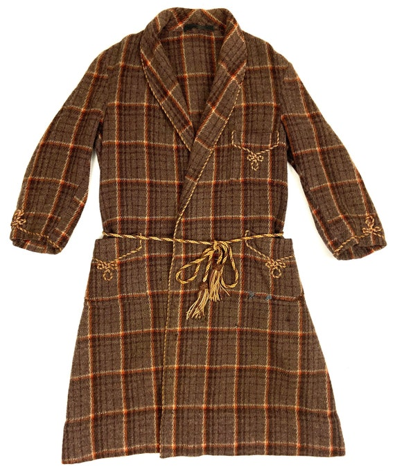 Original late 1940s Men's Dressing Gown by 'Unwin'