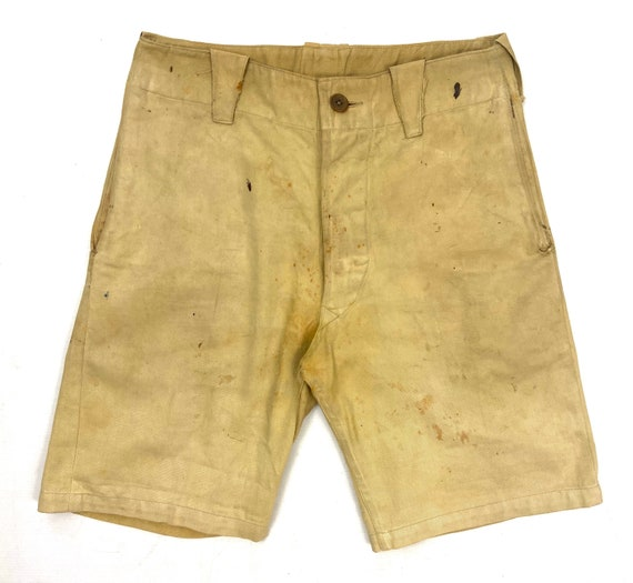 Original 1940s British Workwear Shorts