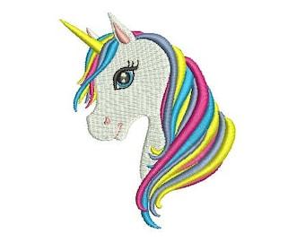c89a37ea211 Unicorn Head Design Embroidery Design Fill Design Machine Embroidery  Instant Download Digital File EN2019 H
