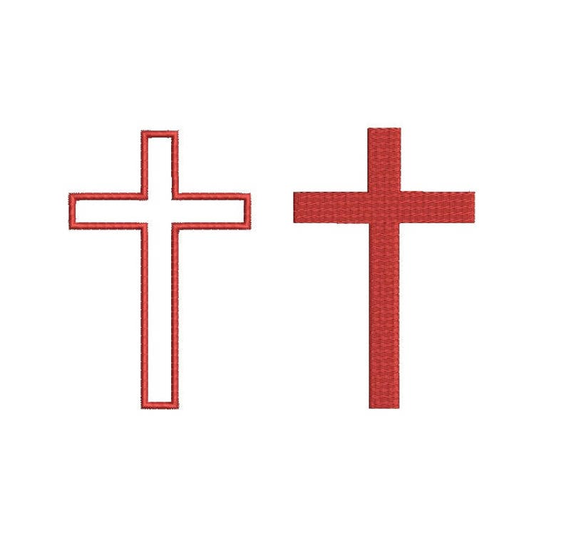 29 Sizes - Cross Design Applique Embroidery Fill Christian Religious Cross  Embroidery Machine Instant Download Digital File EN3003E7F7