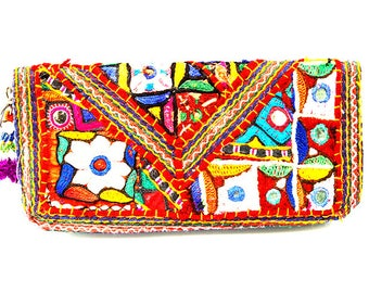 Vintage Patchwork Style Ethnical Wallet - NEW