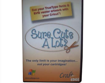Sure Cut A Lot 2 Digital Instant Download for Windows, SCAL 2,  Cutter Software, Instant Download