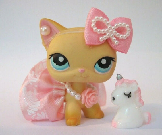 Lps Custom Accessories Lot ✨ One Collar /& One Flower Piece •PETS NOT INCLUDED•