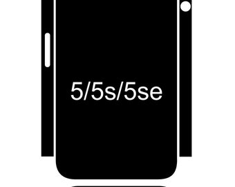 Iphone Skin Template