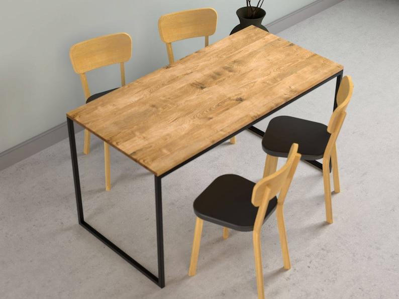 Tavolo Da Pranzo Industriale : Tavolo da pranzo moderno light nio cm acciaio etsy
