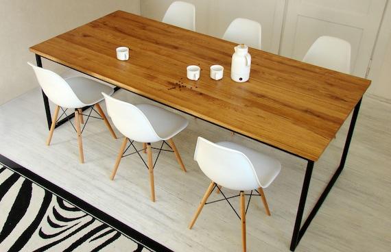Tavolo Da Pranzo Industriale : Tavolo da soppalco industriale tavolo da pranzo industriale etsy