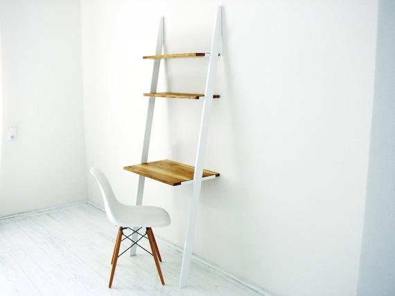 Bureau scandinave bello bureau en échelle moderne bois etsy