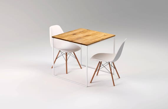 Kvadratischer Tisch LIGHT TRE KVADRAT-80x80x75cm Esstisch | Etsy