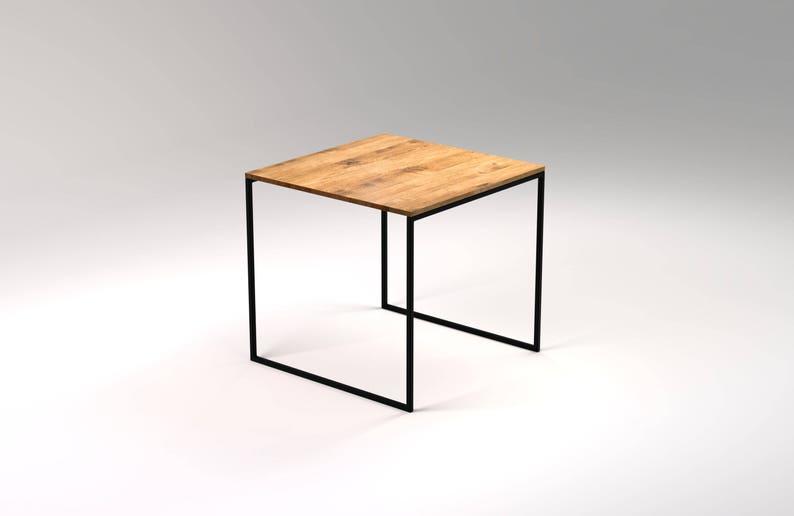 Tavolo Industriale Quadrato : Tavolo da pranzo quadrato kvadrat cm tavolo da cucina etsy