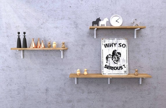 Półka Dla Dzieci Na Książki Półka Drewniana Na ścianę Półka Dębowa Na Przyprawy Półka ścienna Nad Biurko Półka Wisząca Do Kuchni Bell
