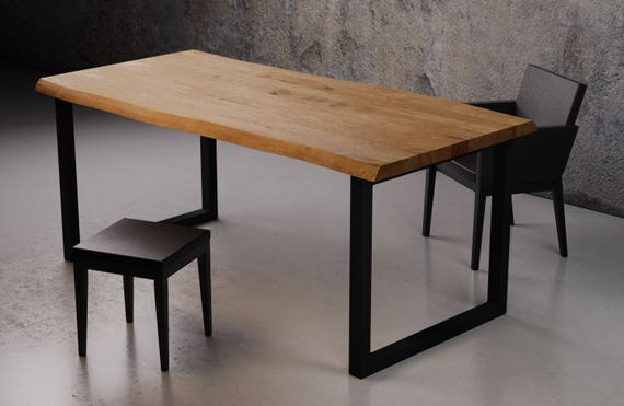Modern Dining Table RÅ Black Conference Table Writing Etsy - Handmade conference table