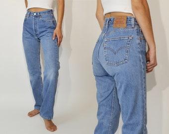 """c70412e3 Vintage Levi's 501 Jeans, 26"""""""