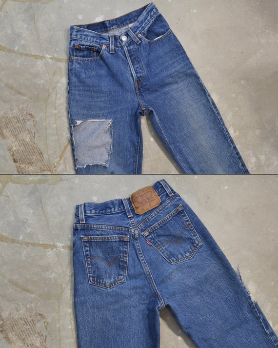 """Vintage Levi's 501 Jeans, 22.5"""""""