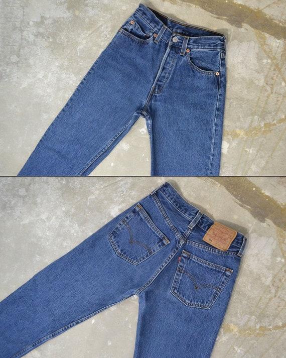 """Vintage Levi's 501 Jeans, 24"""""""