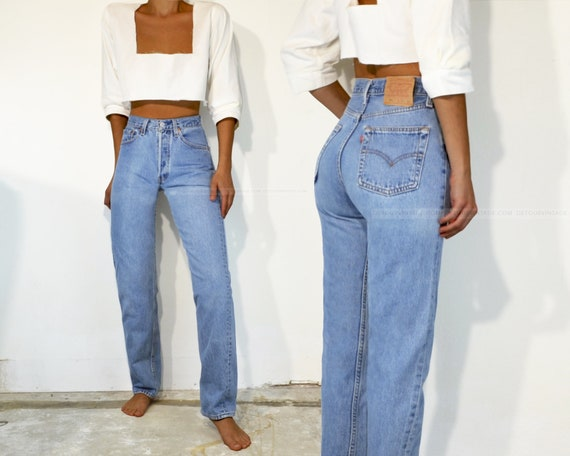 """Vintage Levi's 501 Jeans, 24.5"""""""