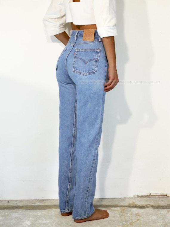 """Vintage Levi's 501 Jeans, 24.5"""" - image 3"""