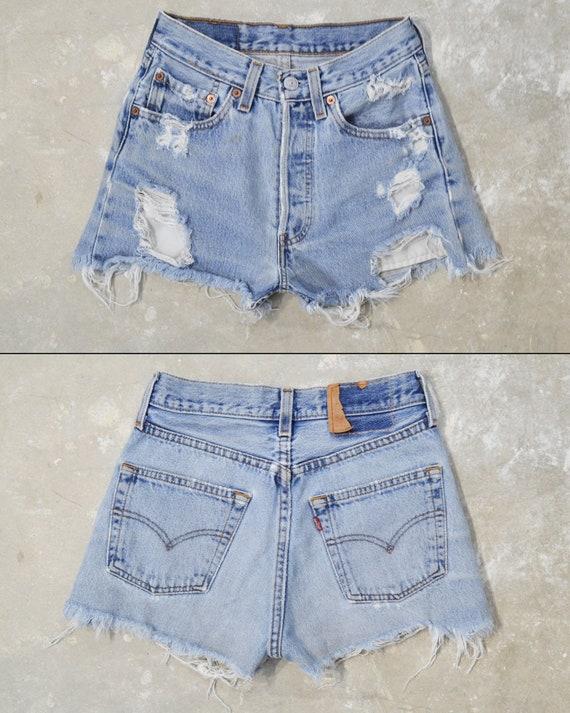 """Vintage Levi's 501 Shorts, 24"""""""