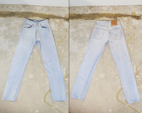 """Vintage Levi's 501 Jeans, 23.5"""" - image 2"""
