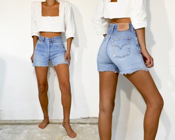 """Vintage Levi's 501 Shorts, 25"""""""