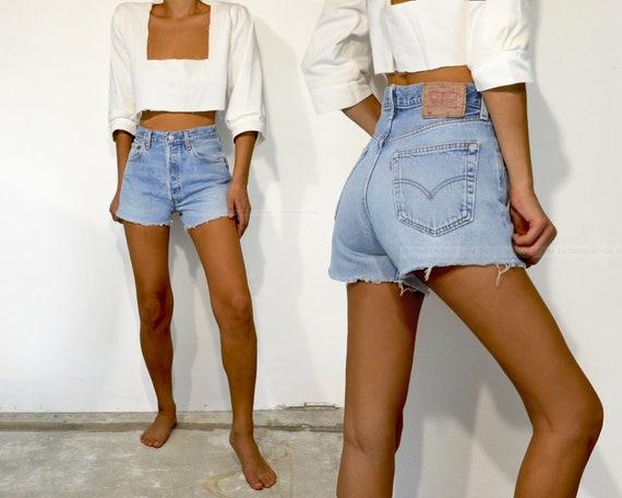 """Vintage Levi's 501 Shorts, 30"""""""