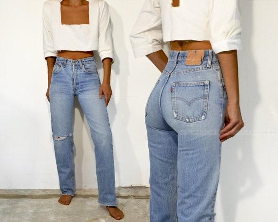 """Vintage Levi's 501 Redline Jeans, 26"""""""