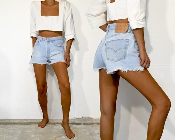 """Vintage Levi's 501 Shorts, 28"""""""