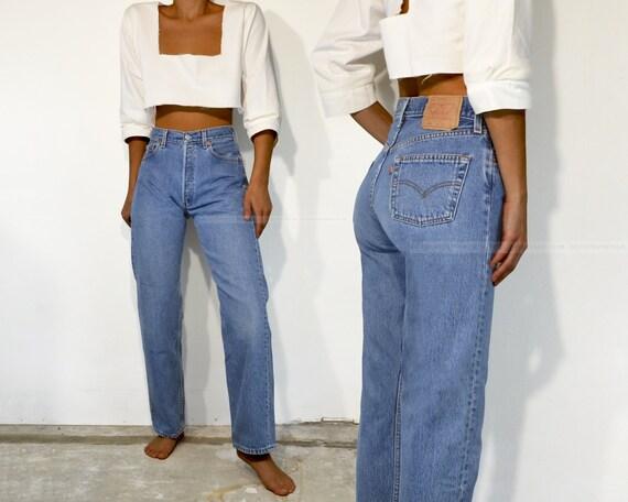 """Vintage Levi's 501 Jeans, 28"""""""