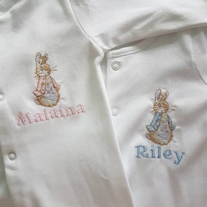 "CREAM /""PETER RABBIT/"" TEE SHIRT TOP 18-24m"