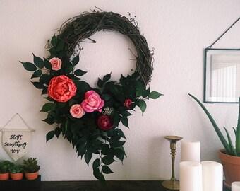 Sweet spring wreath