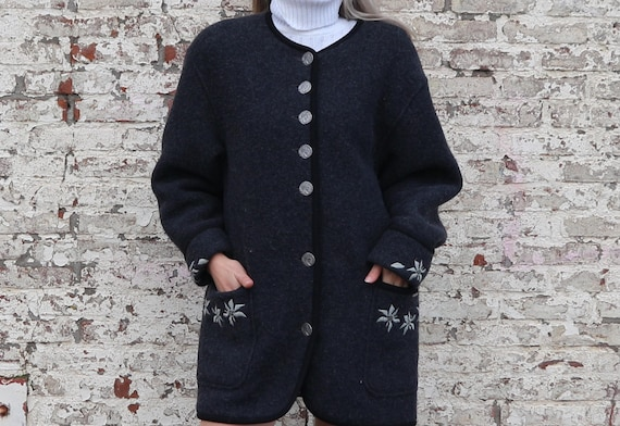 Woolen winter coat, Tyrolean winter coat