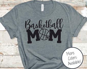 Basketball Mom shirt | Game Day shirt | Sports Mom shirt | Basketball Heart shirt | Gift for Basketball Mom | Soft Unisex Sports Shirt