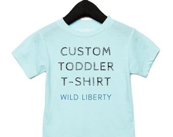 Custom Shirt for Toddler   Create your own shirt for kid   Toddler T-shirt   Toddler Birthday Shirt   Personalized kid shirt   Toddler Sizes