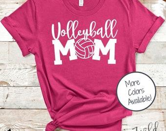 Volleyball Mom shirt | Game Day shirt | Sports Mom shirt | Volleyball Heart shirt | Gift for Volleyball Mom | Soft Unisex Sports Shirt